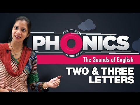 Phonics Two Letter Words, Three Letter Words | Learn Phonics For Kids | Phonics Video Lessons