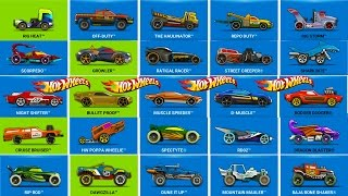 Hot Wheels Race Off - All Vehicles Unlocked & Fully Upgraded
