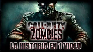 CALL OF DUTY ZOMBIES: La Saga en 1 Video I Fedelobo