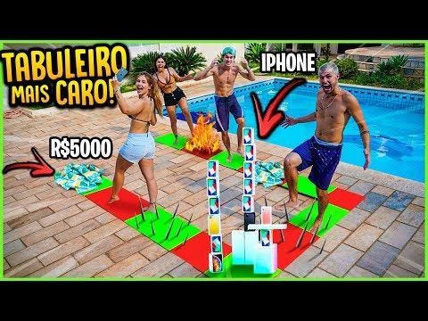 TABULEIRO GIGANTE MAIS CARO DE TODOS!! ( IPHONE 11 E 5000R$ ) [ REZENDE EVIL ] from YouTube · Duration:  14 minutes 34 seconds
