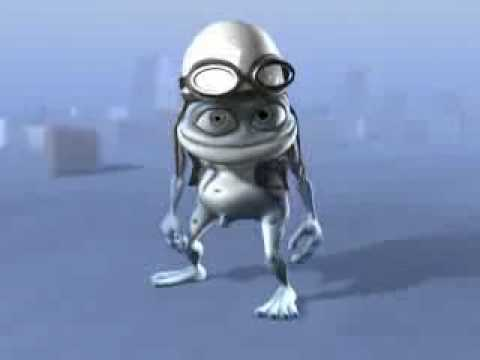 Crazy Frog Animated Form Funny Kids Small Clips