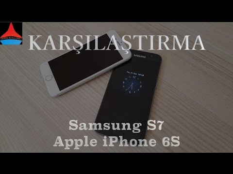 Apple iPhone 6S vs Samsung Galaxy S7 Kullanıcı deneyimi karşılaştırması