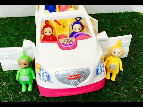 TELETUBBIES TOYS Musical Car and Truck Game!