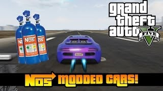 GTA 5 Online- How NOS Cars Are Cheaters Happy And More! (GTA V)