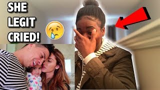 REACTING TO THE ACE FAMILY PREGNANCY ANNOUNCEMENT VIDEO (I CRIED!!!!)