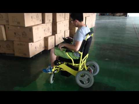 D09  lightweight portable folding power wheelchair