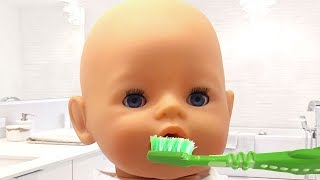 Morning routine with UT kids and baby doll/ Funny video for children