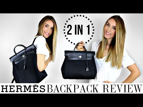 HERMES HERBAG 2 IN 1 BACKPACK & TOTE REVIEW | HONEST OPINIONS - YAY OR NAY? | Shea Whitney