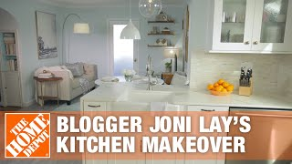 Blogger Joni Lay's Kitchen Makeover - The Home Depot