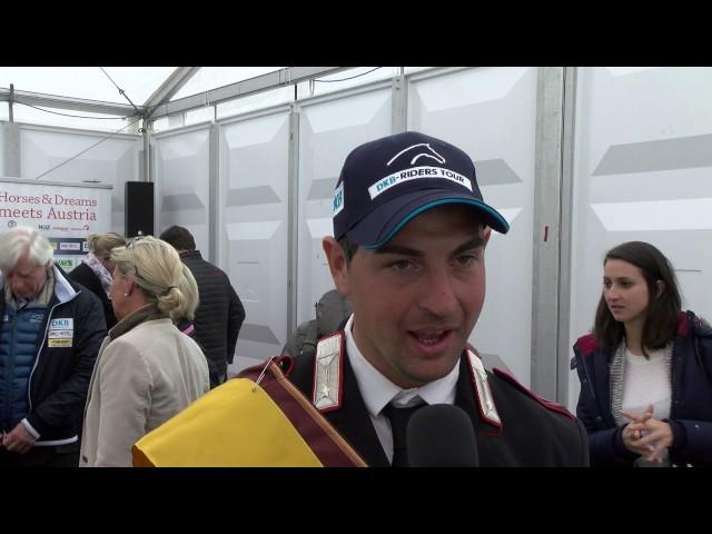 Interview Emanuele Gaudiano nach dem Sieg
