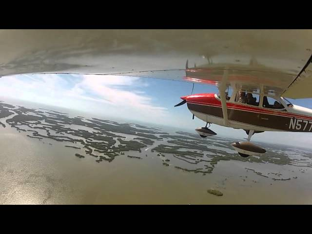 Lantana (KLNA) to Everglades City Airport (X01) filmed with GoPro HD Hero2 camera