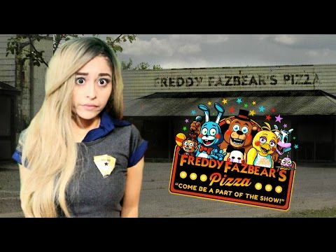 GOING INTO ABANDONED FREDDY FAZBEAR PIZZA | FNAF Survive The Night Visual Novel