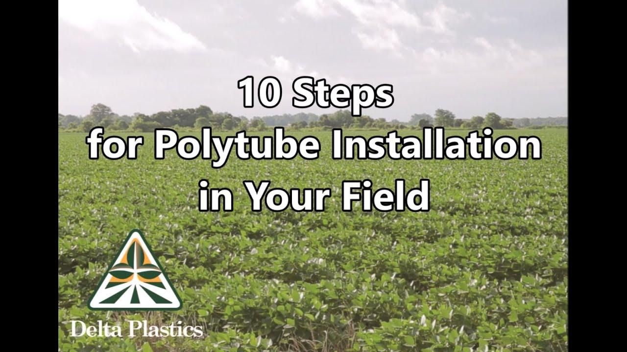 Delta Plastics Polytube Installation Video