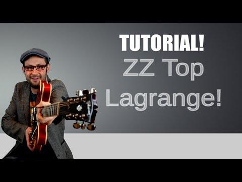 La Grange - ZZ Top - Tutorial chitarra rock!