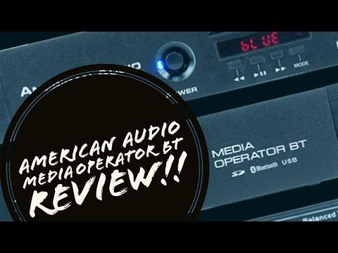 REVIEW!!! American Audio Media Operator BT