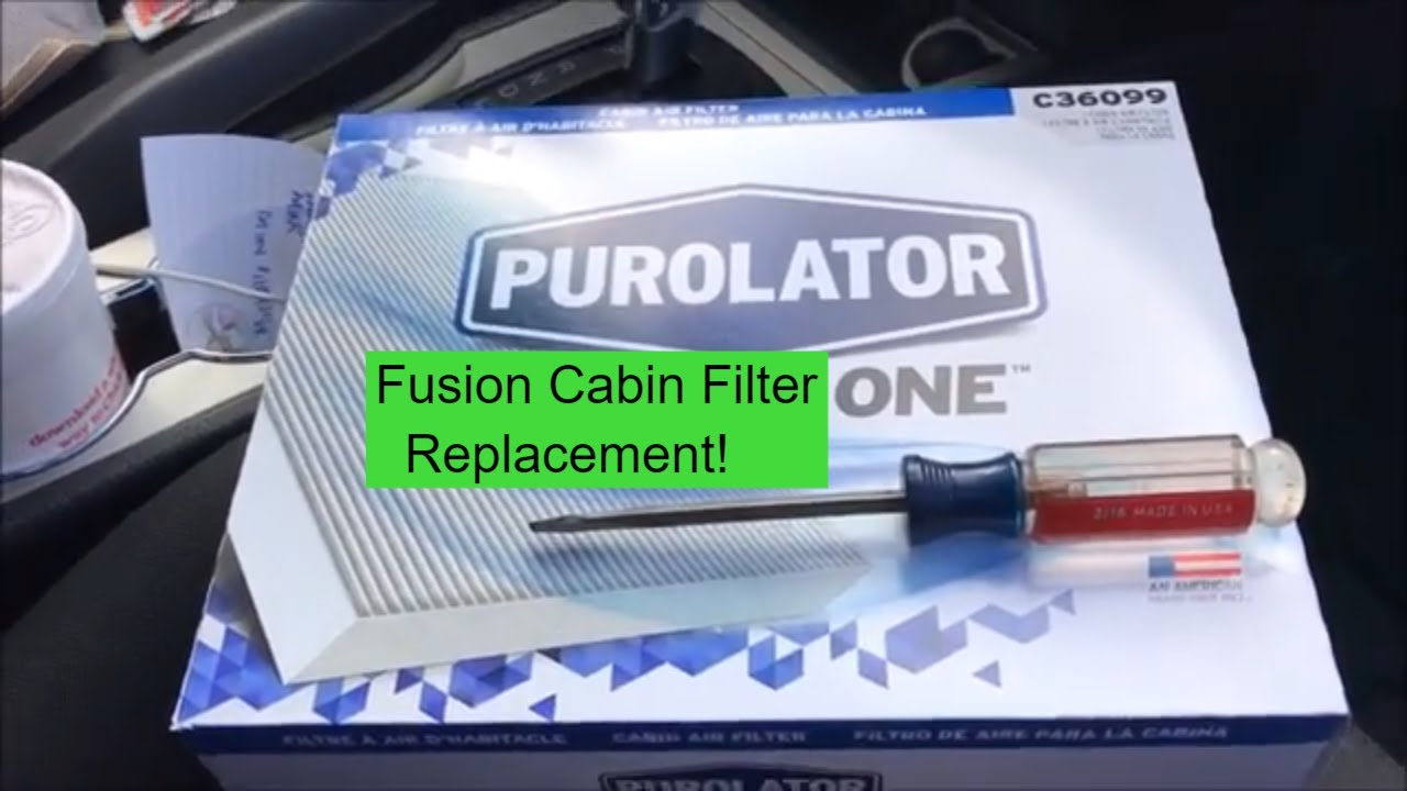 Replacement of salon filter by own hands