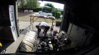 Dépose moteur 4L, équipage #1565 Team ColauRRacing