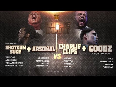 CHARLIE CLIPS + GOODZ VS ARSONAL + SHOTGUN SUGE  SMACK/ URL