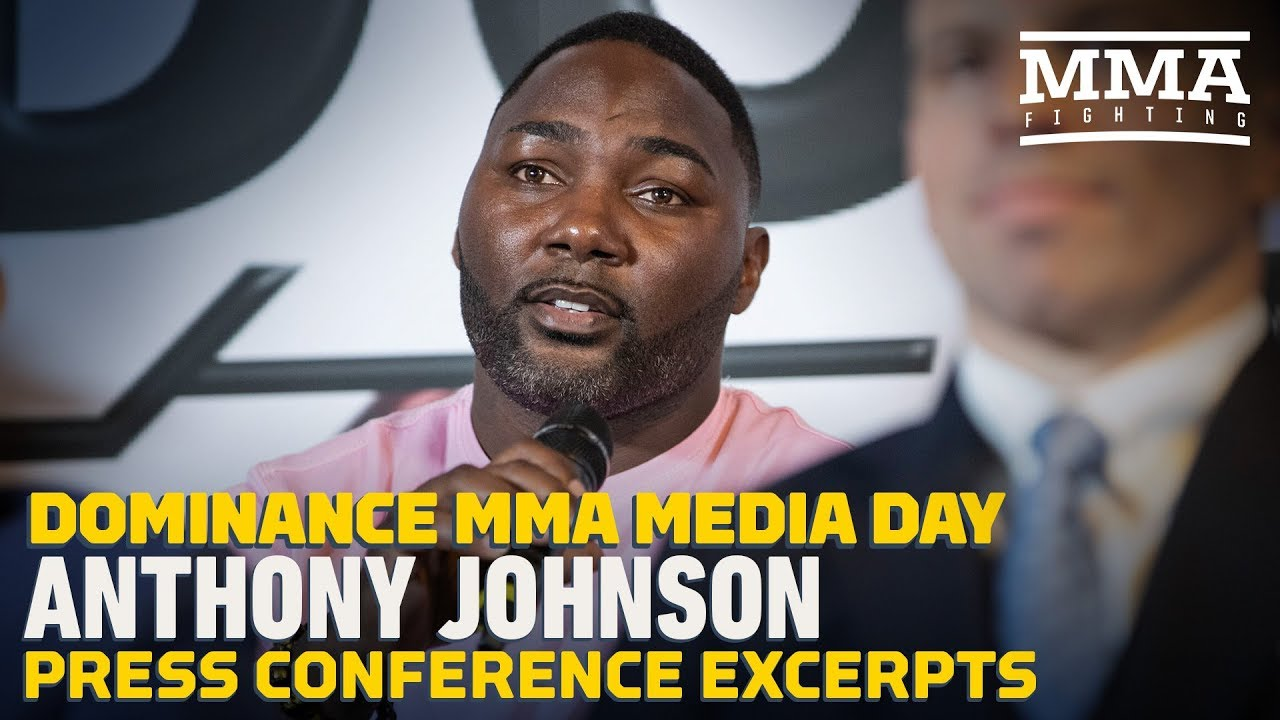 Anthony Johnson Hopes to Fight Francis Ngannou for UFC Heavyweight Title - MMA Fighting