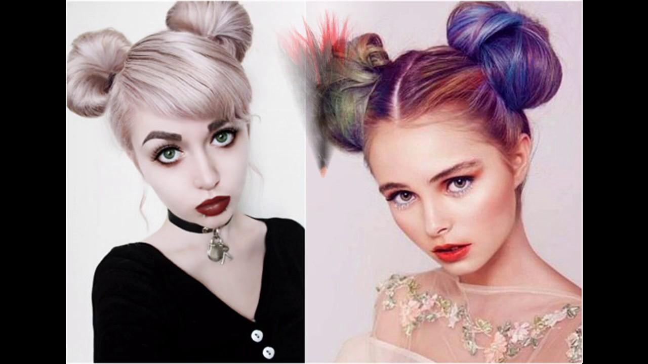 Neue Frisurentrends Halloween Frisuren YouTube