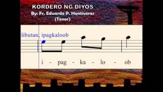 I08c Kordero ng Diyos - by E. Hontiveros (Tenor)