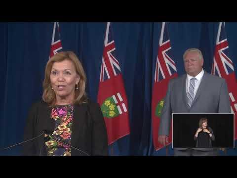 Ontario Premier Doug Ford Provides COVID-19 Update | September 22