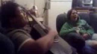 Wyclef Jean ft Claudette - Two Wrongs -  Acoustic Cover  - JONJAY KALEOPA N CEDELLA TAHAU