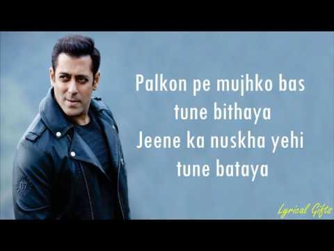 Naach Meri Jaan   Tubelight Lyrics  Salman Khan   Sohail Khan By MUSIC MASALA