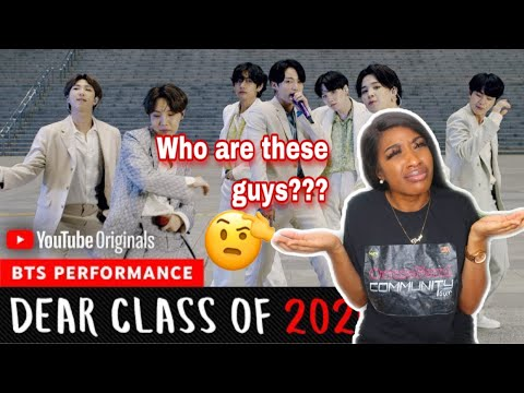 BTS DEAR CLASS OF 2020 GRADUATION PERFORMANCE FIRST REACTION- ARE THEY WORTH THE HYPE?? | DUPE GBAD