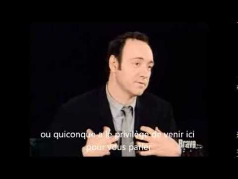 Etre acteur : Kevin Spacey révèle le secret du succès aux jeunes acteurs