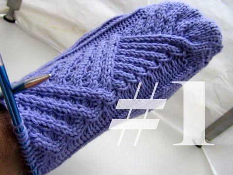 """Stricken mit eliZZZa * Socken """"Schief gewickelt"""" * Teil 1 * Ergonomische Spitze"""