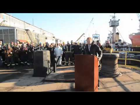 Navy contract for Seaway Marine