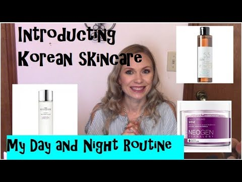 Giveaway Winner below- Day and Night Skincare Routine-Introducing Korean Skincare- K Beauty Series