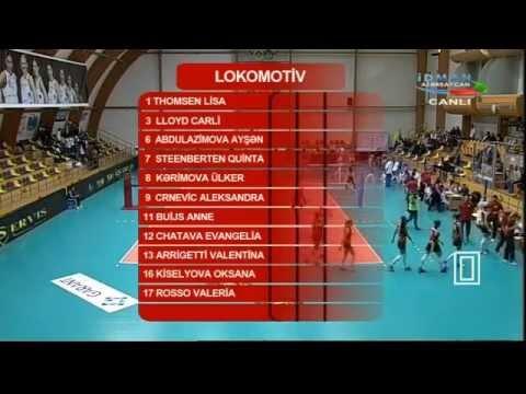 2014.11.07 Lokomotiv Baku VS Azerrail Baku 1set