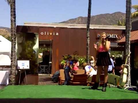 Charli Sings ForgetYou in Malibu