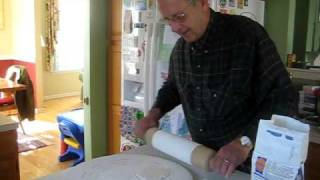 Uff Da! Beth & Grandpa Chuck Making Norwegian Lefse In Nj!