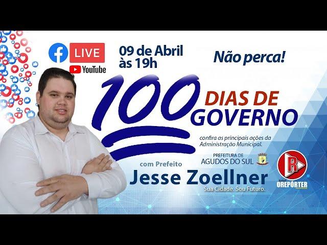 Entrevista exclusiva com o prefeito interino de Agudos do Sul, Jesse Zoellner