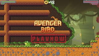PlayNow: Avenger Bird | PC Gameplay (Platform Side Scroller Game with Pixel Art Graphics)