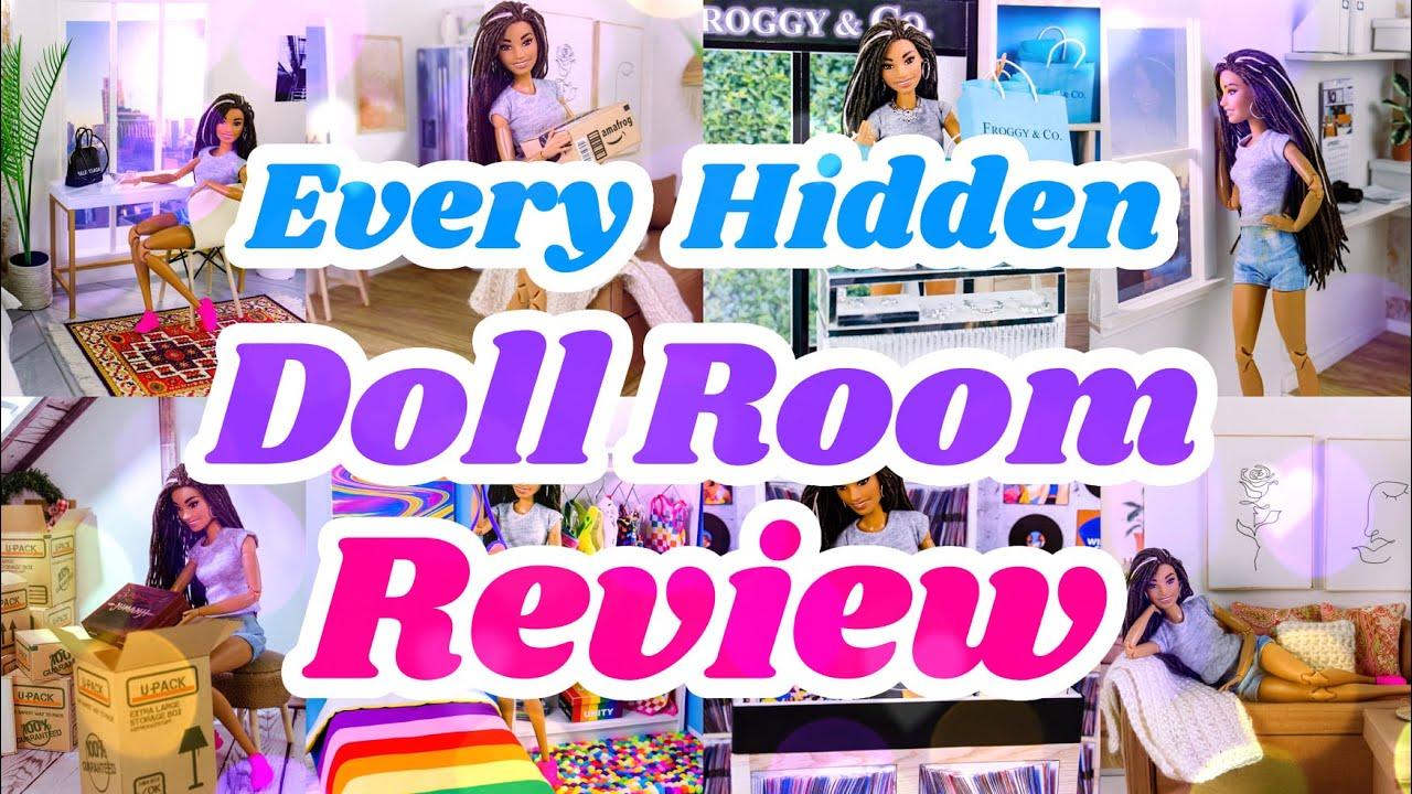Every Hidden Doll Room Review | IN DEPTH | PLUS DIY Dollstagram Yearbook 2021