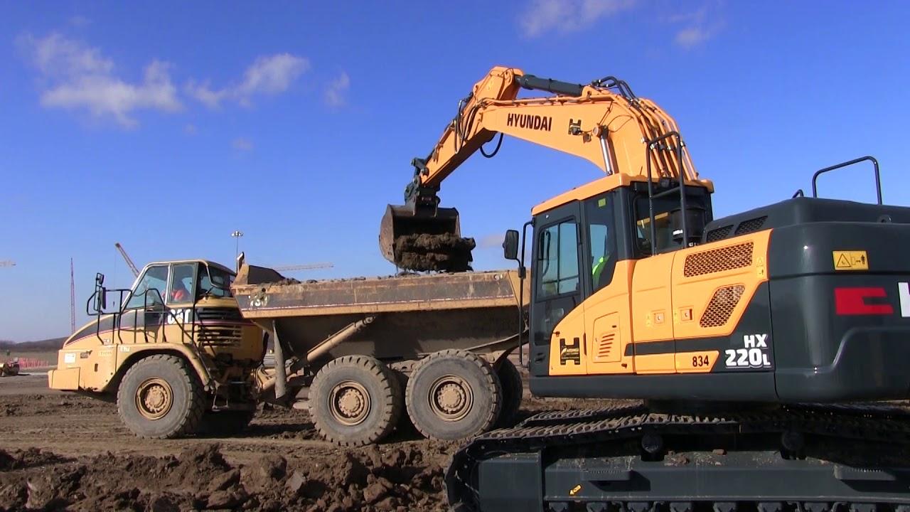 Hyundai Crawler Excavator R290lc 3 Service