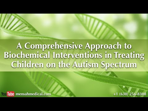 """""""A Comprehensive Approach to Biochemical Interventions in Treating Children on the Autism Spectrum"""""""