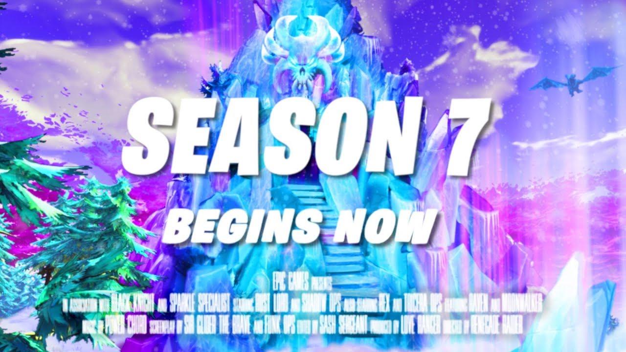 Fortnite Season 7 Announce Trailer Official Fortnite Battle