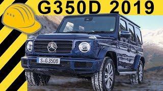 Neue G-Klasse im Schnee! G350d mit 286 PS (2019) Test & Fahrbericht