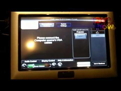 E4 AV Tour 2011: AMX Shows Rack Replacer Box, Green Digital Signage Player