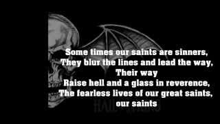 Avenged sevenfold St James lyrics