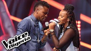 Tobore vs Jennifer sing 'Awww' / The Battles / The Voice Nigeria 2016