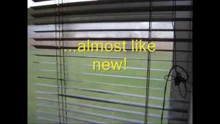 Repair Bent Mini Blinds