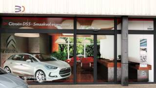 3D virtual showroom for Citroën DS5
