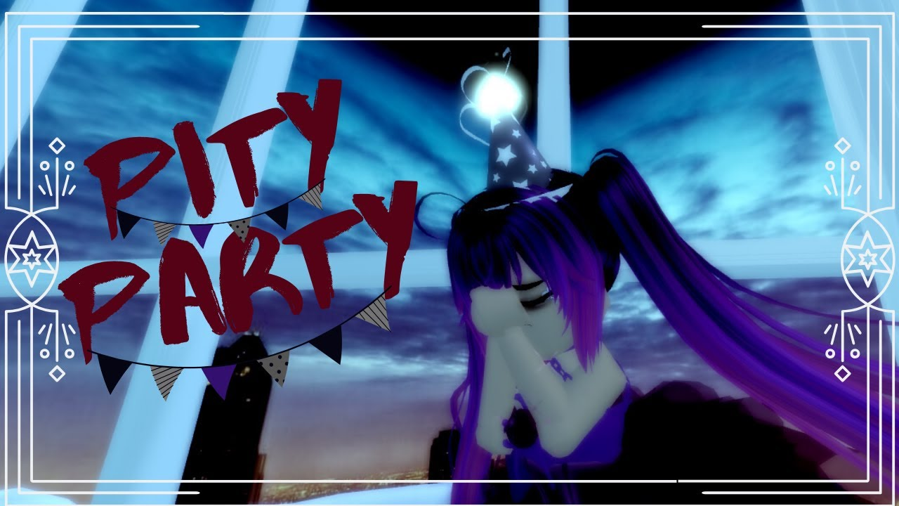 Roblox Pity Party Roblox Royale High Pity Party Nightcore Music Video Youtube