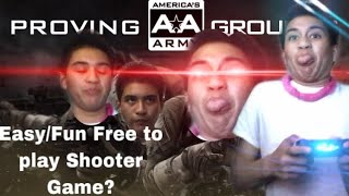 Playing A Easy/Fun Free To Play Shooter Game